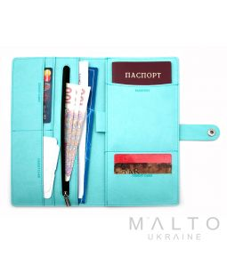 Travel Wallet GENOVA Viva Light Mint